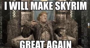 Trump pls