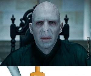 Gratulacje! Twój Voldemort ewoluował w Donatellę!