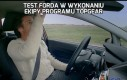 Test Forda w wykonaniu ekipy programu TopGear