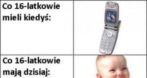 Kiedyś gimbusy miały telefony...