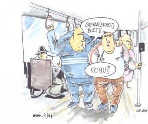Dresy w autobusie