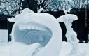 Śnieżne rzeźby (na pewno nie w Polsce)