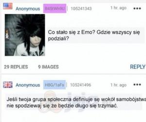 Co się stało z emo?