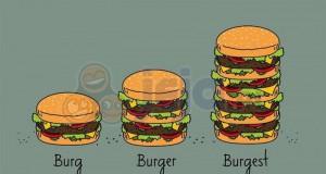 Stopniowanie burgerów