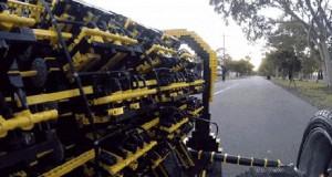 Silnik zrobiony z klocków Lego