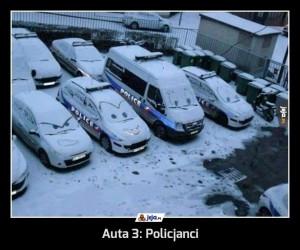 Auta 3: Policjanci