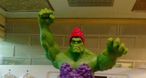 4 latka chciała tort Hulka księżniczkę...