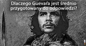 Guevara do tablicy!