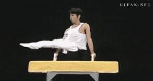 Zręczny akrobata