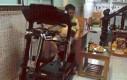 Ja podczas ćwiczeń