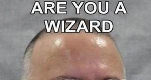 A to dopiero czarodziej!