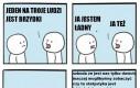 Komiks o statystyce bycia ładnym, ale nikt nie łamie czwartej ściany
