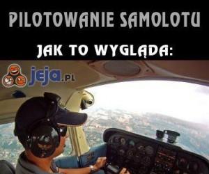 Pilotowanie samolotu