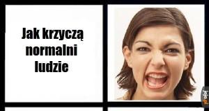Jak krzyczeć