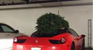Znalazłem Ferrari pod choinką