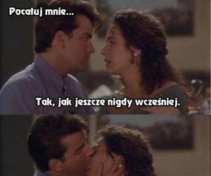 Niepowtarzalny pocałunek