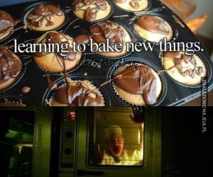 Nauka pieczenia nowych rzeczy