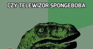 Czy telewizor Spongeboba