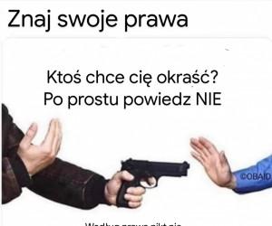Znaj swoje prawa!