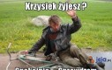 Krzysiek!