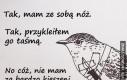 Bardzo groźny ptak