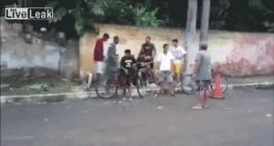 Atak maczetą w Brazylii