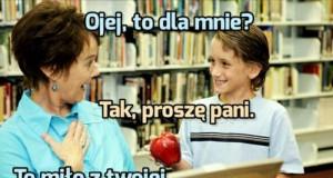 Jabłko vs polska edukacja