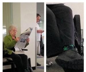 Te babcine skarpetki