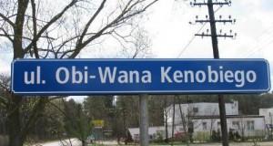 Oficjalna ulica Obi-Wana w Polsce!