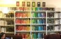 Też układacie książki kolorami?