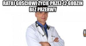 Lekarze tak mają