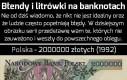 Błędy i literówki na banknotach
