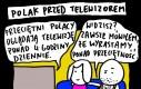 Polak przed telewizorem
