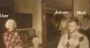 Admin, Mod i użytkownik