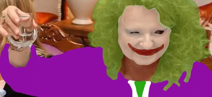Magda Gessler jako Joker