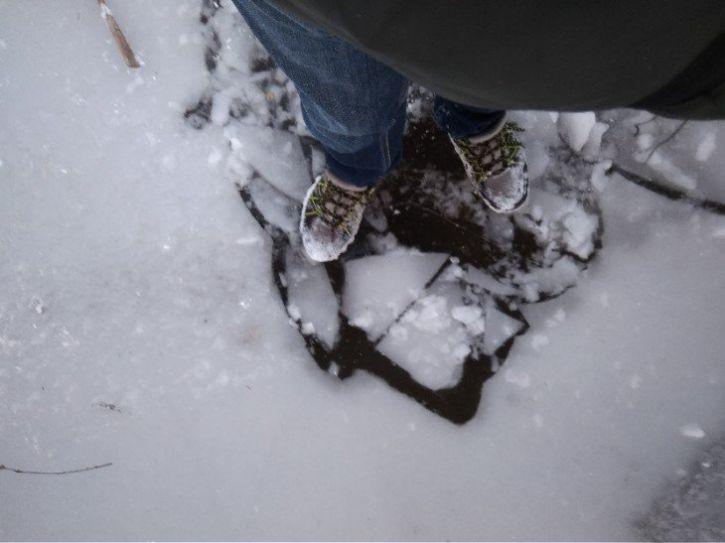 Wpadłem po lód XD