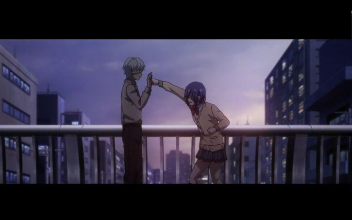 Kaneki vs Touka :')