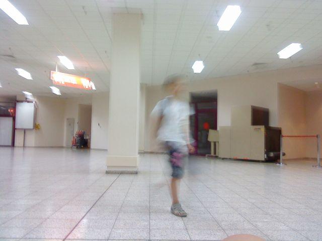 Na lotnisku w ruchu