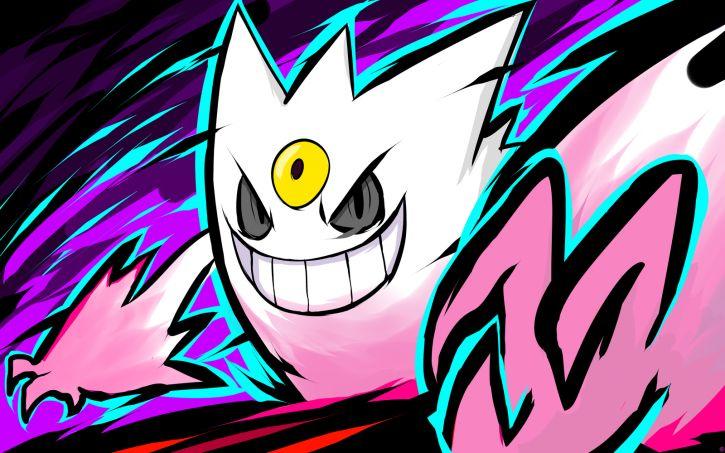 Mój avatar / Shiny Mega Gengar ;3