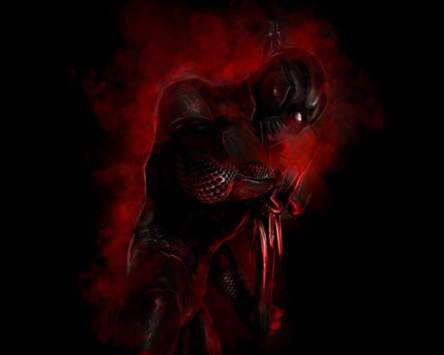 Dark Red Warrior