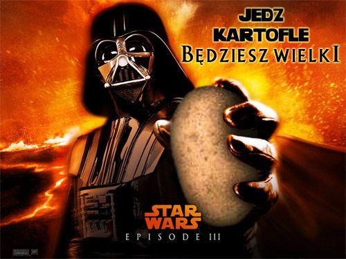 Lord Vader propaguje znaną akcję...