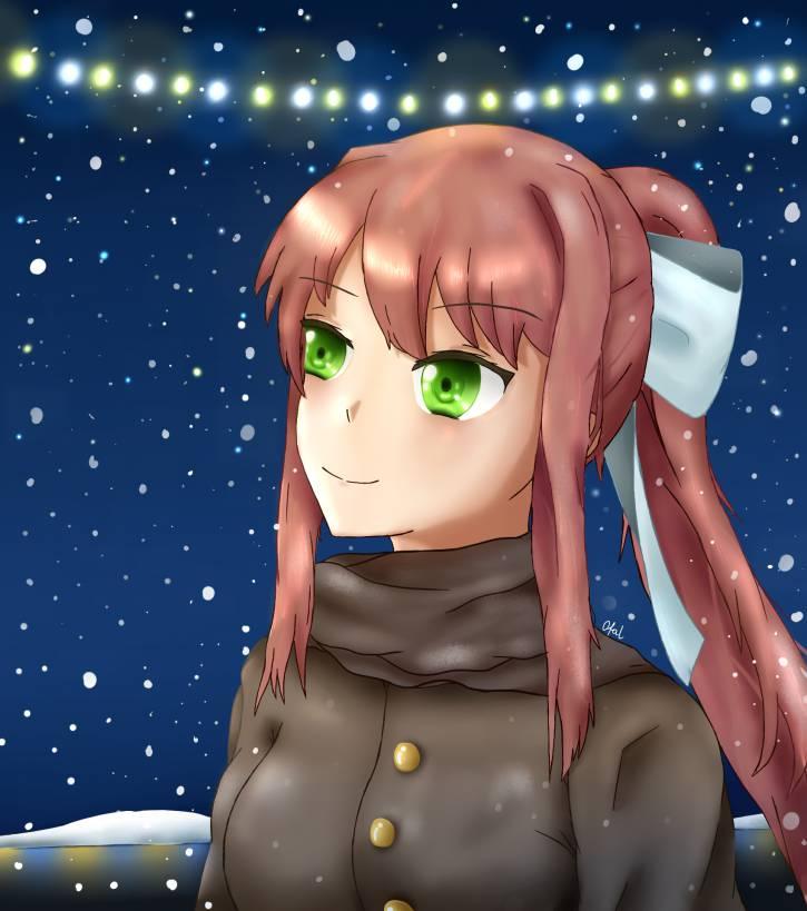 bo śnieg spadł