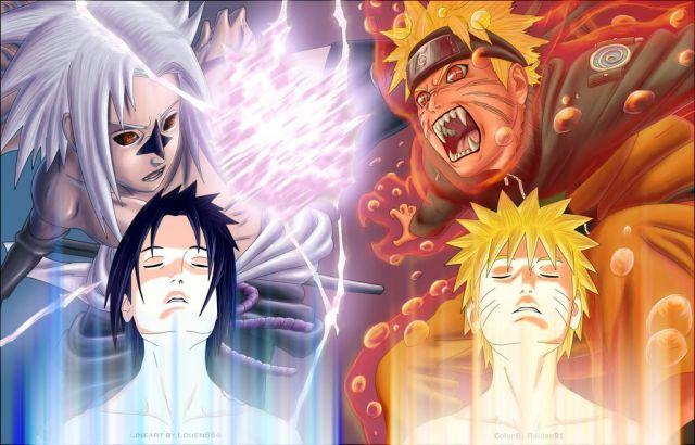 Sasuke i Naruto.!