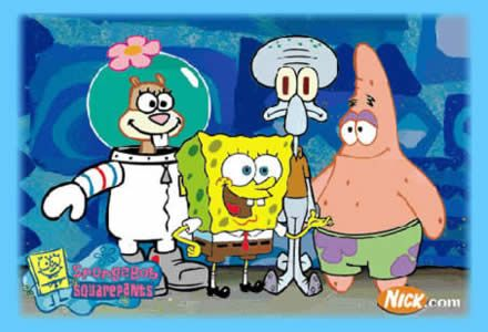 SpongeBob i przyjaciele