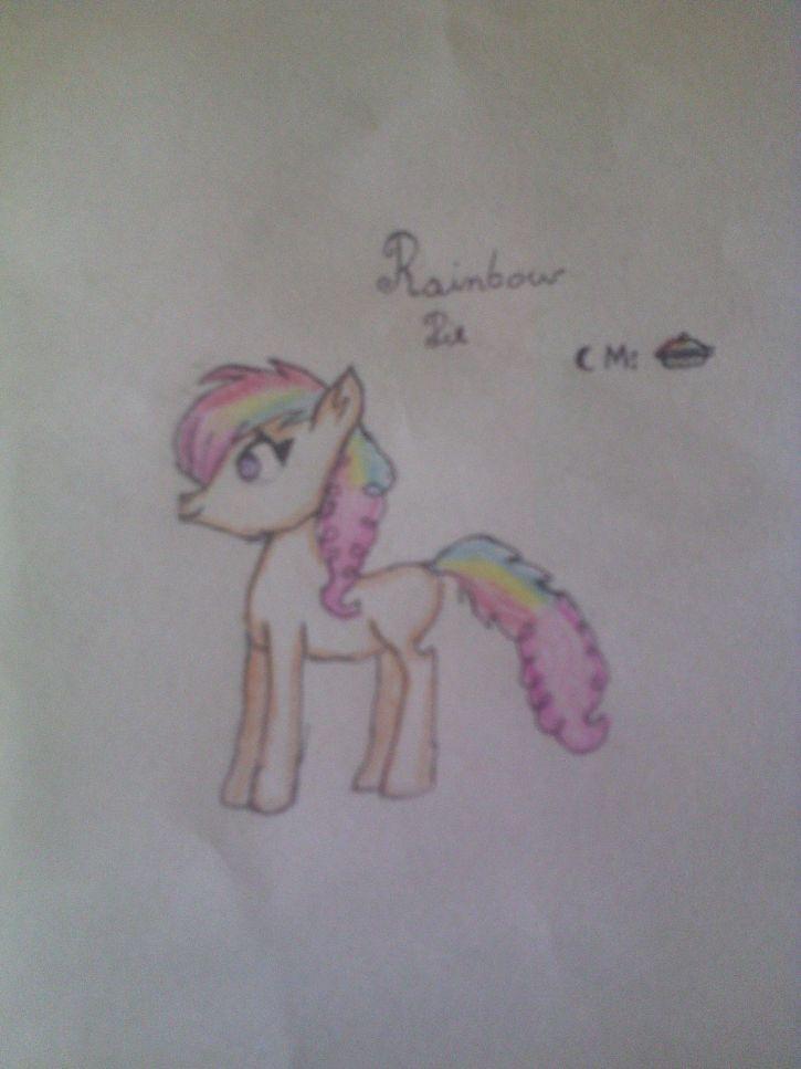 Moja OC Rainbow Pie