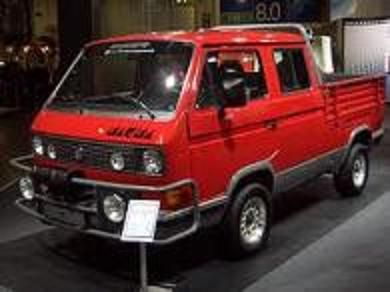 VW Transporter t3 SYNCRO (concept)