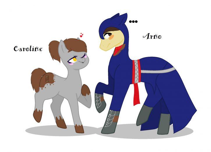 Caroline i Arno