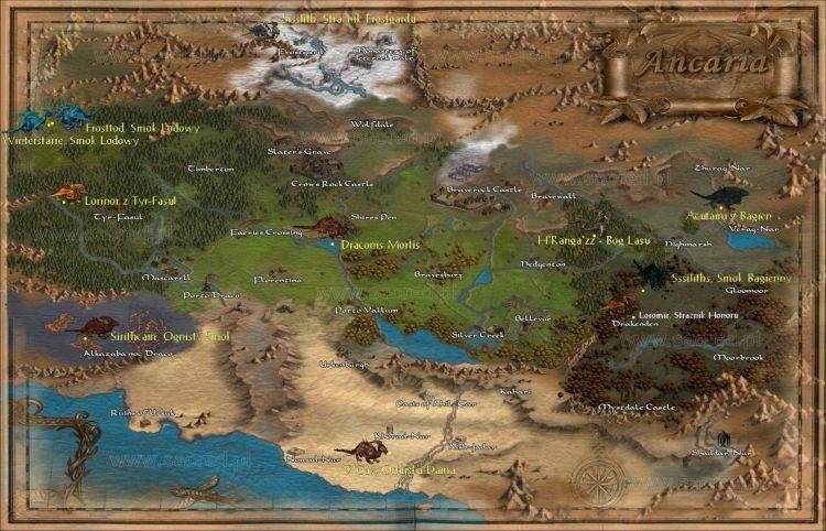 Mapka Sacredka