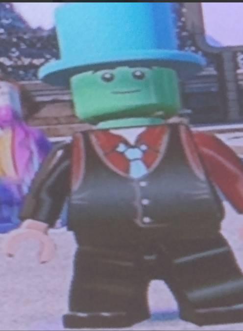 Mój avatar w wersji lego