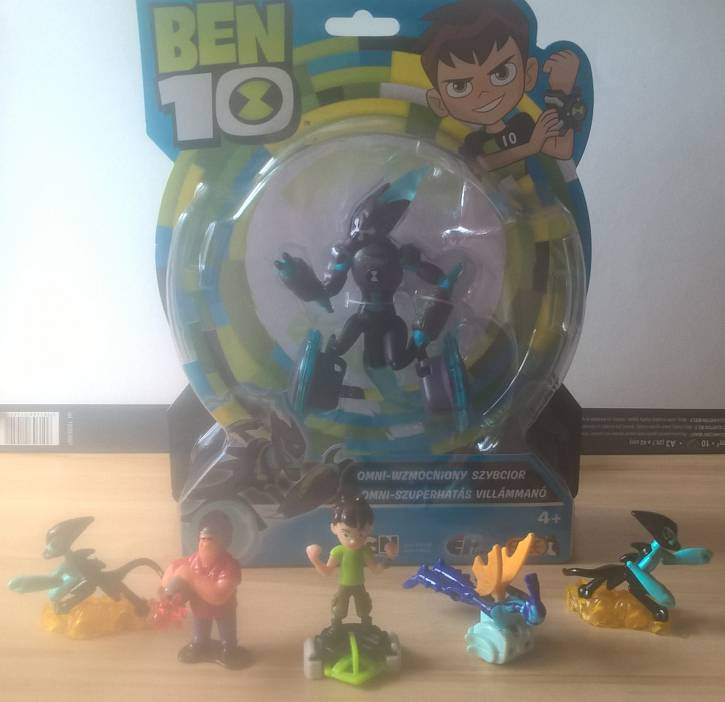 Moja kolekcja Ben 10 <3